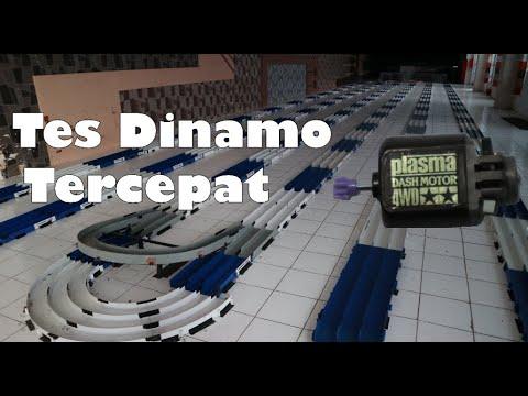 Tes Kecepatan Dinamo Terkencang Plasma Dash