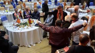 Alibeyköyspor Birliik ve Beraberlik Gecesi (TFF yetkilileri çiftetelli oynuyor)