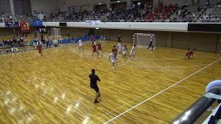 7日 ハンドボール男子 あづま総合体育館 Aコート 高山西×昭和学院 3回戦 2