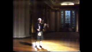 Scottish fiddle : Ron Gonnella plays a medley of compositions by James Scott Skinner