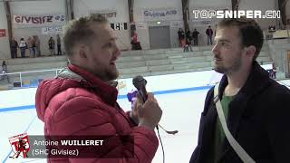 Finale LNA Acte 3 : Interview Antoine Wuilleret (SHC Givisiez)