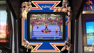 Champion Wrestler - Realistic Arcade Overlay Collection for Retroarch