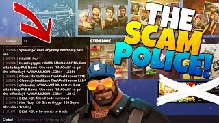 THE SCAM POLICE!   Fortnite Save The World
