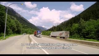 Marquage routier en Colombie Britannique