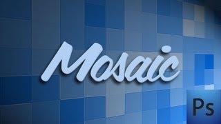 Photoshop: Mosaic Pattern