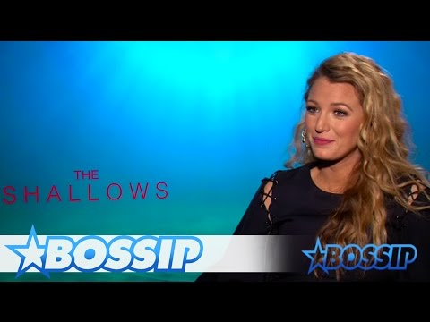Blake Lively Talks Working With CGI Sharks, Post-Baby Snapback & More