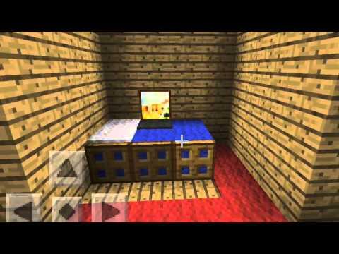 Minecraft Pe Bedroom Ideas