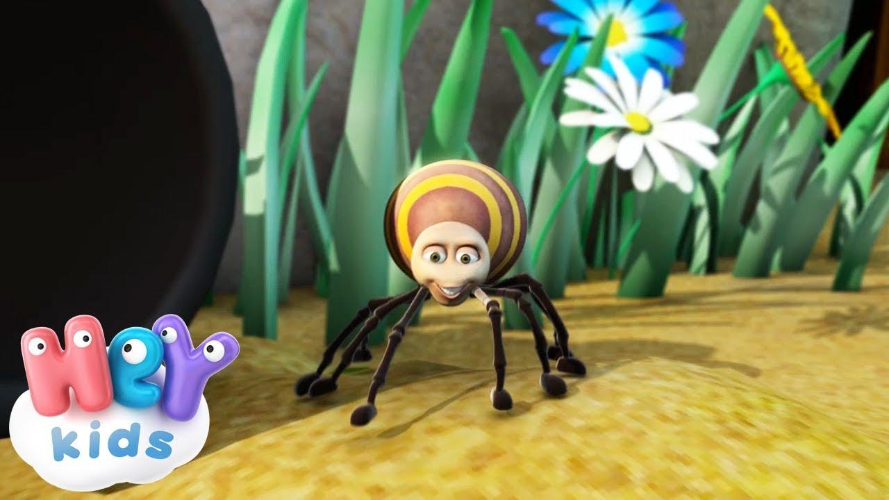 Eine Kleine Spinne - Kinderlieder TV.de - Itsy Bitsy Spider in ...