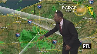 Swarms Of Dragonflies Showing Up On Weather Radar