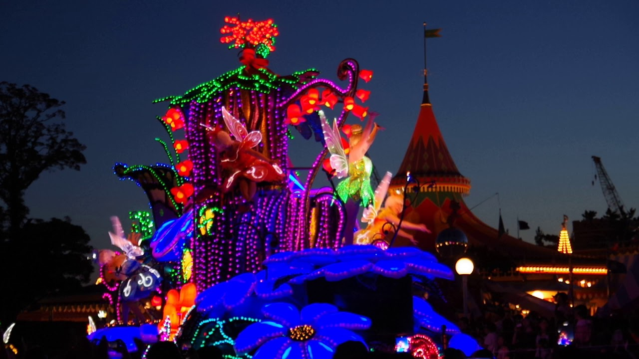 東京迪士尼夜間遊行-3 - YouTube