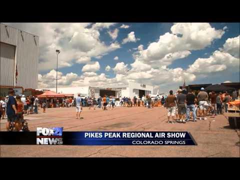 Vintage planes take to the Colorado Springs skies