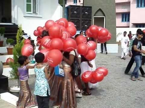 ST  FRANCIS XAVIER CHURCH ALUVA 18102012 Video By HYGNES JOY PAVANA MOV02265