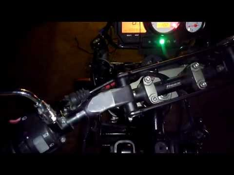 XTZ 900 Fuel Injected First start after transplantation