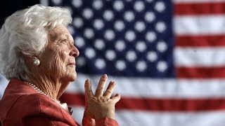 From youtube.com: Former first lady Barbara Bush dead at 92 {MID-283482}