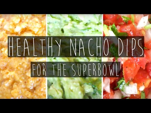 3 Quick and Easy Healthy Vegan Nacho Dips for the Super Bowl | Eva Chung