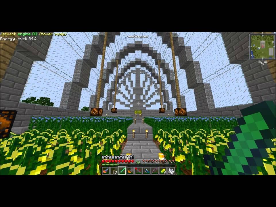 Minecraft Greenhouse