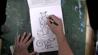 Joe Murray Spends Christmas Drawing Characters