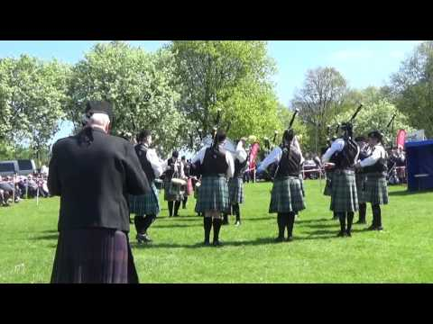 Colmcille Pipe Band @ Ards & North Down Pipe Band Championships 2016