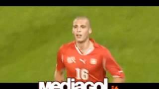 Pajtim Kasami segna il gol del 4-1 della Svizzera U21 contro la Sve...