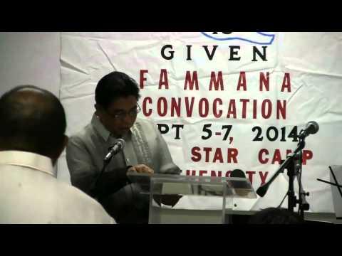 FAMMANA Convocation Southwestern Union Chapter 2014 - Sabbath Afternoon 09.06.2014