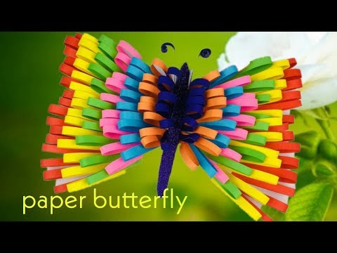 Butterfly Craft | Butterfly Paper Craft | Paper Butterfly | Paper Butterfly Wall art