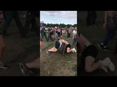 SW4 Music Festival Crazy Fight - Clapham, London