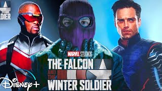 The Falcon and the Winter Soldier NEW LOOK!