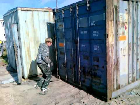 Продам контейнер 40 футов Одесса - YouTube