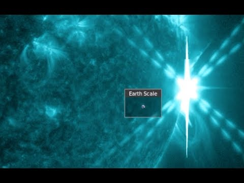 Incredible Solar Flares of September 2017
