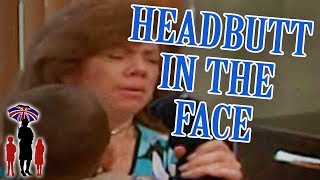 Child Headbutts Mom In The Face! | Supernanny