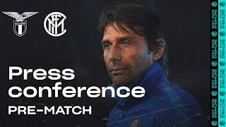 LAZIO vs INTER | Antonio Conte Pre-Match Press Conference LIVE 🎙⚫🔵 [SUB ENG]