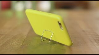 Hold the phone! you can prop up a smartphone with paperclip? find out how to turn an annoying situation into solution stand #ehowhacks. prod...
