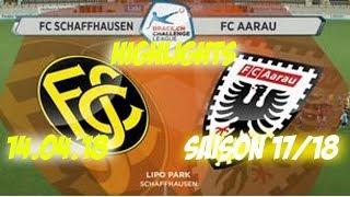 Fc Schaffhausen vs Fc Aarau (14.04.18)