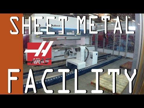 Touring HAAS Sheet Metal Factory!