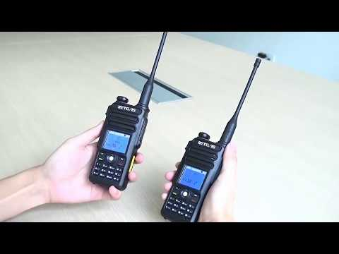 Retevis RT82 Dual Band DMR Radio Private/ Group Call Match
