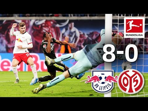Hat-Trick Hero Timo Werner Involved In All 8 Leipzig Goals - 3 Goals + 3 Assists