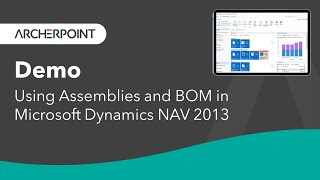 Using Assemblies and BOM in Microsoft Dynamics NAV 2013 (Demonstration)