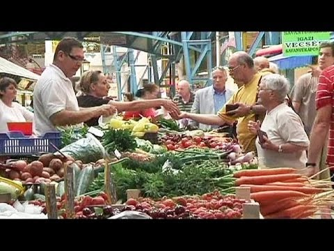 Hungarian inflation slips into negative territory - economy