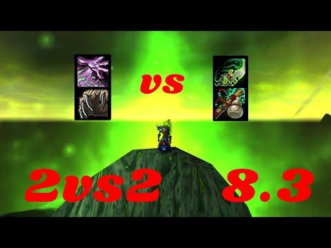 [8.3] Destruction Warlock PoV Arena Bfa  Saison 4 - 2vs2