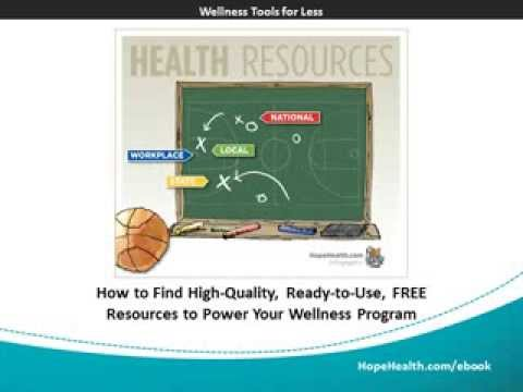 Where to Find FREE Resources for Your Wellness Program