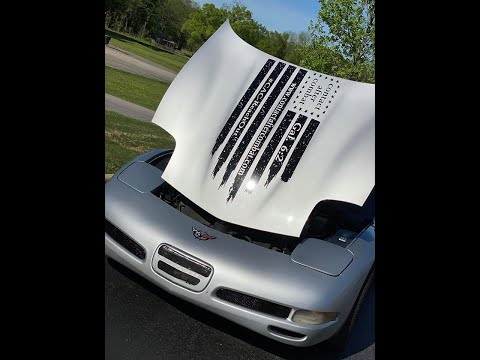 How To Adjust 1997 Through 2004 C5 Corvette Hood, Trunk, And Body Panels.