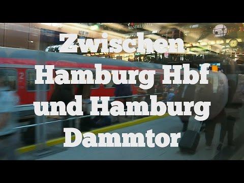 Bahnfahrt von Hamburg Hbf nach Hamburg Dammtor (Let's Rail)