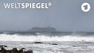 Norwegen: Kreuzfahrschiff aus Seenot gerettet | Weltspiegel