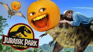 What if Annoying Orange was in Jurassic Park? #Shorts