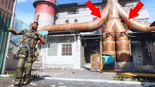 THE MOST OVERPOWERED HIDING SPOT EVER IN MW!!! HIDE N