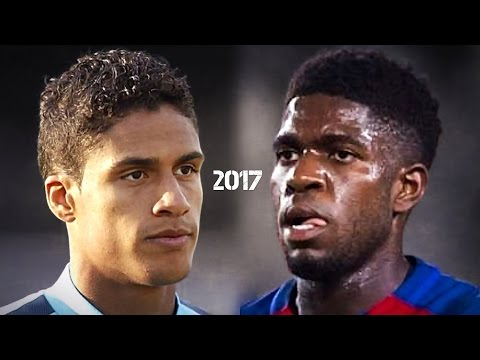 Umtiti vs Varane ● French Wall ● 2017 HD