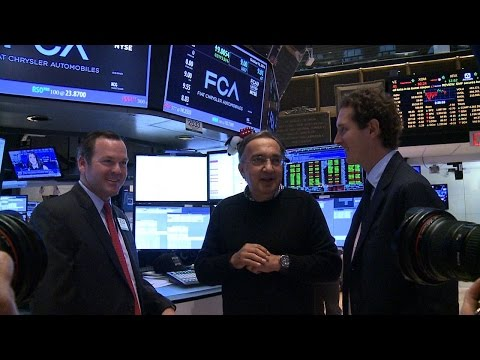 Fiat Chrysler Automobiles NYSE First Day Highlights