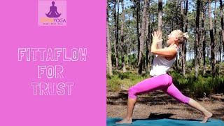 A VINYASA FLOW Yoga class ( Full Class) to cultivate strength, courage and trust.