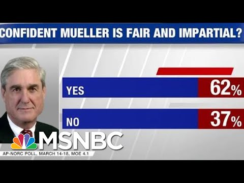 Poll: 62% Confident Mueller Probe Being Conducted Fairly | Hardball | MSNBC