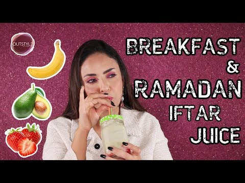 My Breakfast Juice Smoothie | Juice Diet To Lose Weight For Ramadan